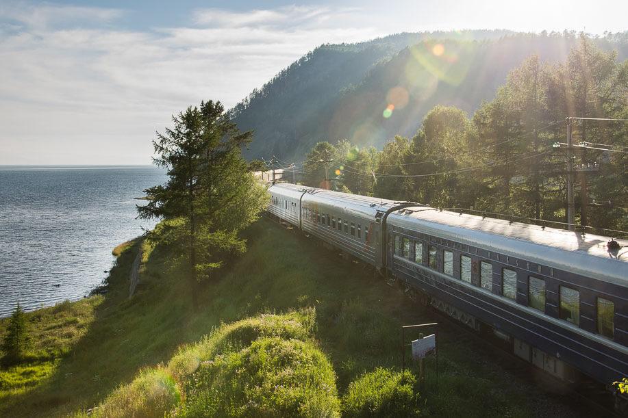 Transsibirische Eisenbahn am Baikalsee - Reiseshow