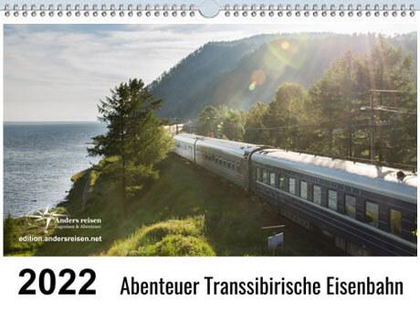 Kalender Transsibirische Eisenbahn 2022